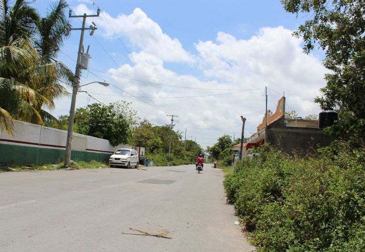 No existe vigilancia constante por parte de los policías en toda la ciudad que garantice que los pobladores sean agredidos. (Sara Cauich/SIPSE)