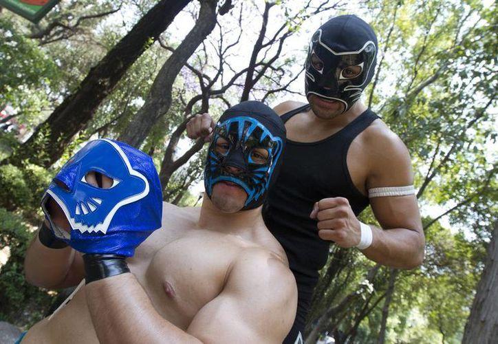 Black Panther y Cachorro buscan que su trabajo sea reconocido, como lo fue su padre Blue Panther. (Notimex)
