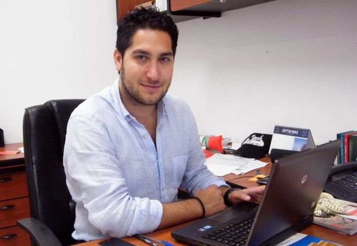Santiago González Abreu,  director de Promoción de la Secretaría de Fomento Turístico. (Milenio Novedades)