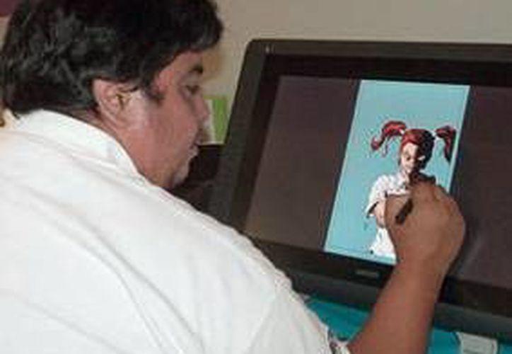 El monitor de 13 pulgadas es el más vendido, ya que se comercializan 30 al mes. (Sergio Orozco/SIPSE)