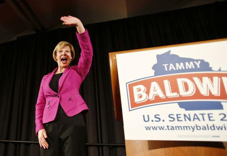 Al resultado obtenido por Tammy Baldwin hay que añadir la aprobación de los matrimonios gay en los referendum llevados a cabo en Maryland y Maine. (Agencias)