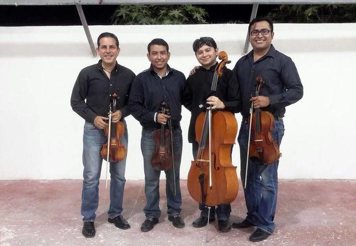 El Cuarteto Vivace quiere acercarse a los jóvenes a través de la música. (Milenio Novedades)