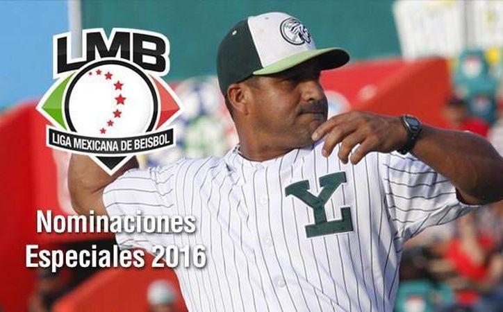 Willie Romero, timonel de Leones de Yucatán, fue nombrado por segundo año consecutivo como Manager del Año. (facebook.com/leonesdeyucatan),