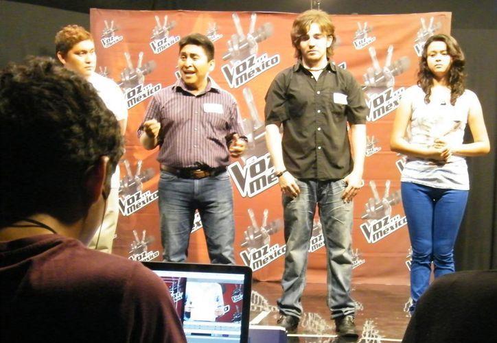 Durante el casting del año pasado, buscando talento de la Península de Yucatán. (SIPSE)