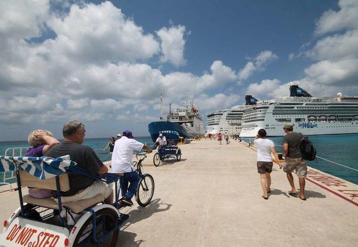 Proyectan la llegada de 17 cruceros en Mahahual y Cozumel. (Redacción/SIPSE)