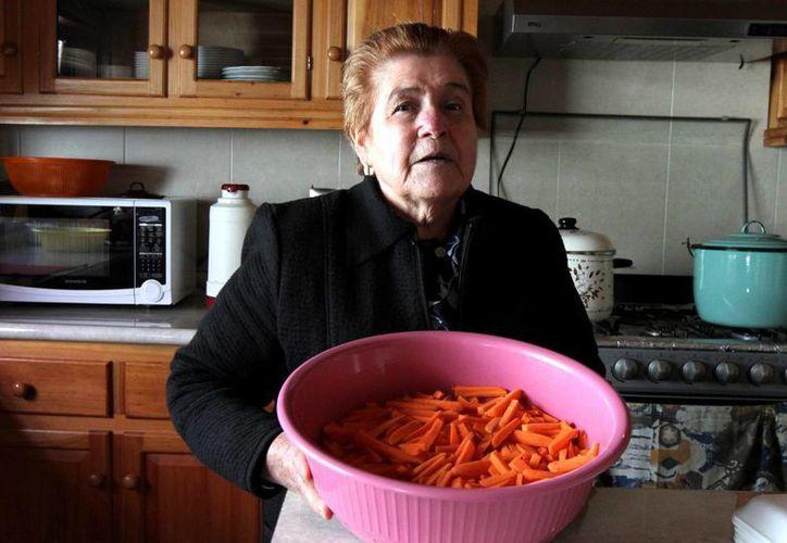 María del Socorro Arizmendi será la encargada de cocinar para el Papa Francisco, durante su visita a San Cristóbal de las Casas, Chiapas. (Notimex)