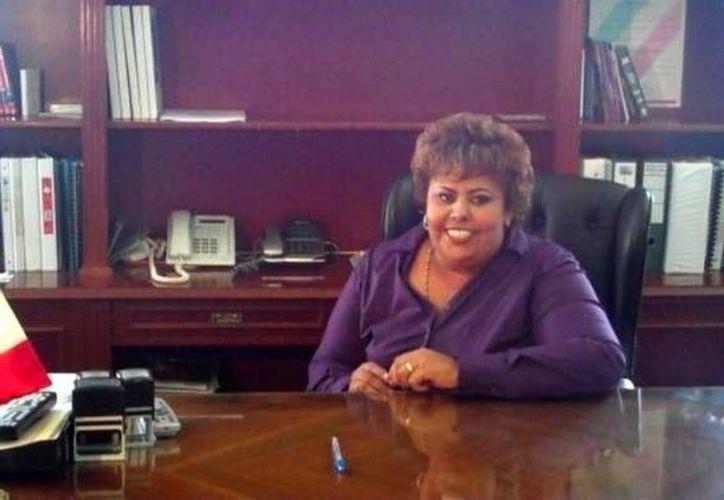 Sara Luz Herrera Cano dijo que seguirá trabajando al frente del Ayuntamiento. (ayuntamientodealvarado.gob.mx)