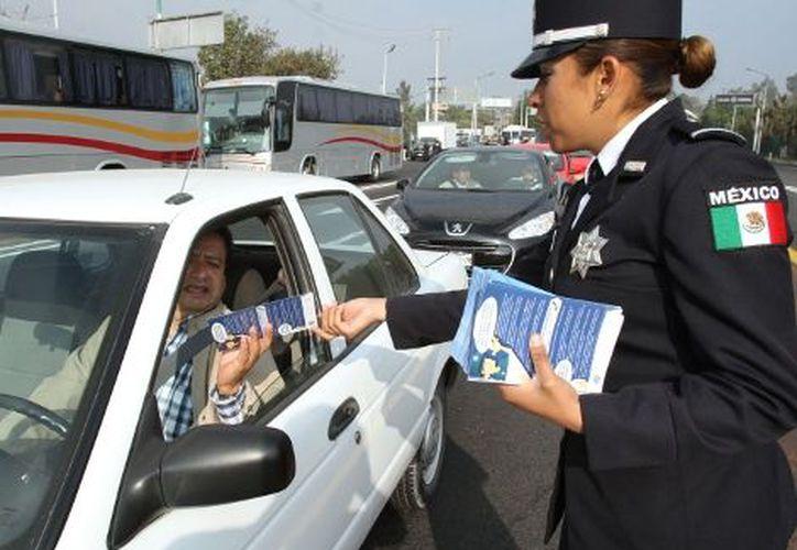 La Policía Federal velará por la seguridad de los paseantes. (Milenio)