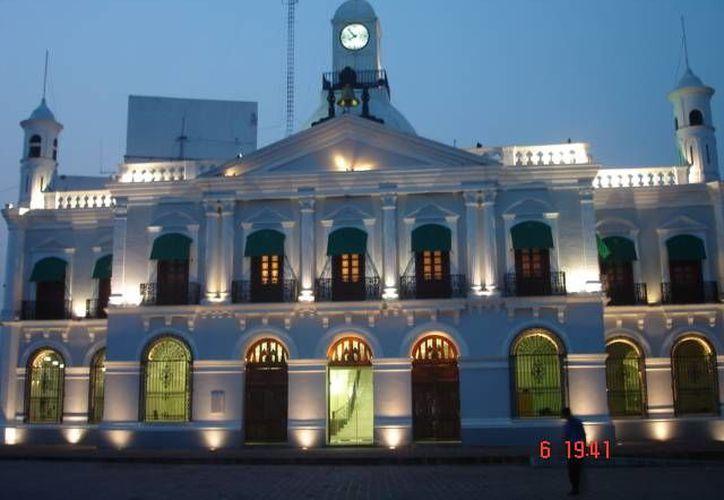 Palacio de Gobierno del estado de Tabasco, entidad que cumplió solamente con el 16% de los requerimientos en transparencia. (tabasco.gob.mx)