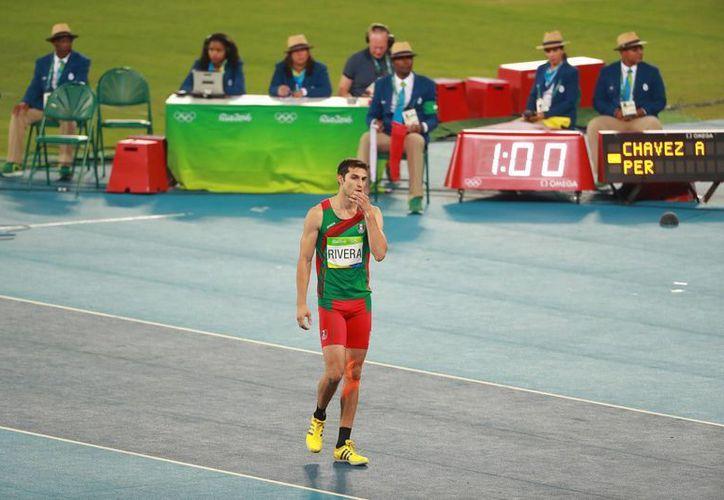 Edgar Rivera participó en los Juegos Olímpicos de Río 2016 (foto); ahora tiene un nuevo reto: el Mundial de Atletismo en Londres 2017. (Archivo/Jammedia)