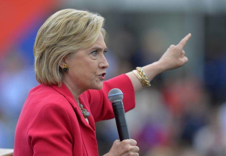Los correos electrónicos fueron parte de las comunicaciones liberadas por el Departamento de Estado en respuesta a una demanda contra Hillary Clinton. (AP)