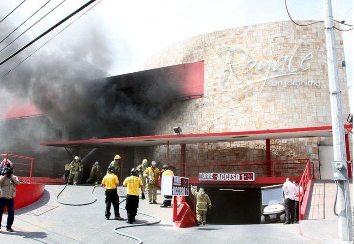 El atentado contra la casa de apuestas fue el 25 de julio del año pasado. (Agencia Reforma)