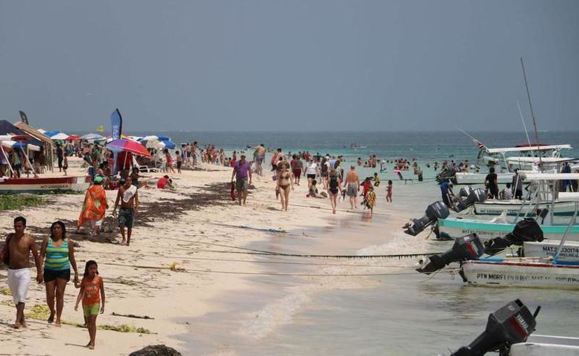 Puerto Morelos espera una ocupación hotelera por encima de 95% en los siete mil cuartos. (SIPSE)