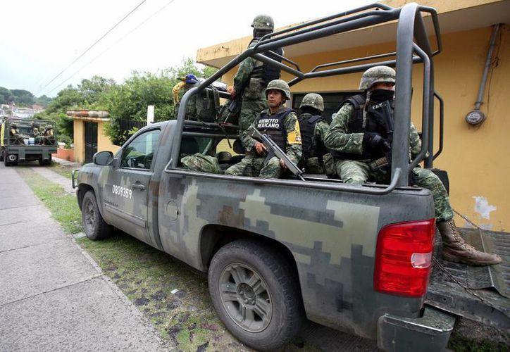 En un comunicado, la CIDH pidió al gobierno mexicano investigar las acusaciones de que personal militar participó en actos violentos en diversos hechos. Imagen de contexto. (Archivo/EFE)