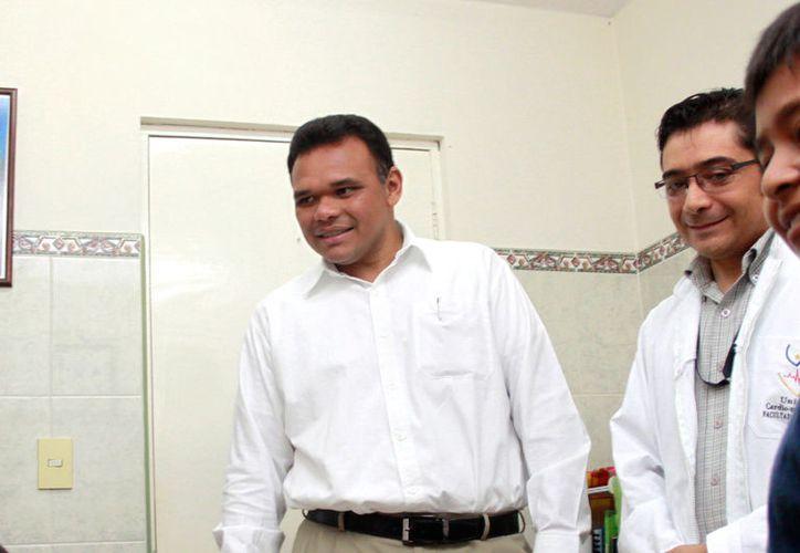 El gobernador Rolando Zapata Bello es el mandatario estatal mejor evaluado del país, según una encuesta de Covarrubias y Asociados. (Cortesía)
