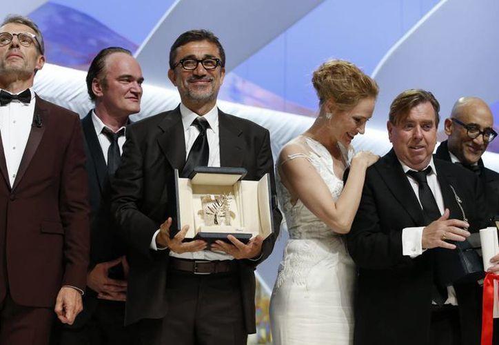 Nuri Bilge Ceylan dedicó el premio a la juventud turca. (Foto: AP)