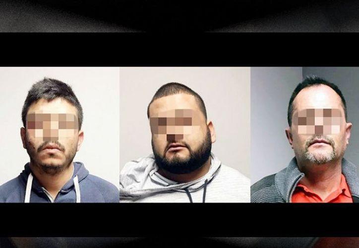 Los hombres detenidos están bajo resguardo de la Fiscalía General de Justicia del Estado. (Excelsior)