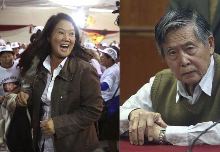 Keiko Sofía nació en la presidencia de Alberto Fujimori, El Chino, quien desde 2009 purga condena de cárcel de 25 años por corrupción y crímenes contra la humanidad. (Agencias)