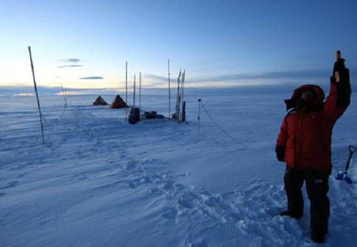 El hallazgo de huesos de dinosaurio y vegetales confirmó que la Antártida (foto) y La Patagonia estuvieron unidas alguna vez. La imagen es de uno de los proyecto del Instituto Antártico Chileno (Inach), quien coordina la investigación que dio ya sus primeros frutos. (Archivo/inach.cl)