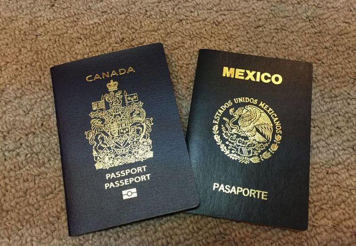 A partir del 1 de diciembre, los mexicanos que viajen a Canadá ya no necesitarán visa para viajar, pero sí un permiso electrónico que ya pueden solicitar en línea. (Notimex)