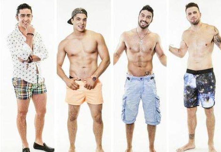 Caballero, Jawi, Fernando y Tadeo encenderán la temperatura en Acapulco Shore. (MTV )