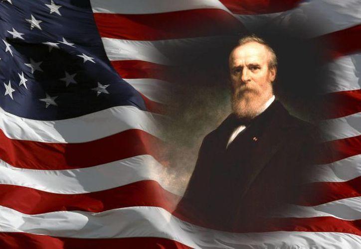 Rutherford Hayes llegó a la presidencia gracias al fraude. (Fotocomposición: SIPSE.com)