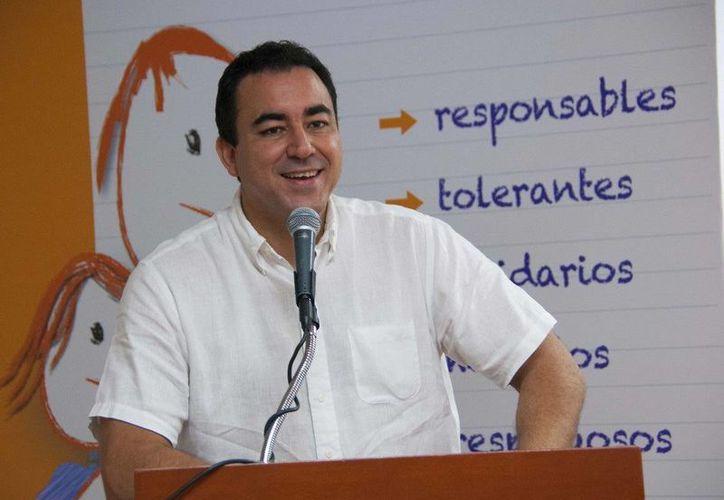 Secretario de Educación y Cultura, José Alberto Alonso Ovando. (Redacción/SIPSE)