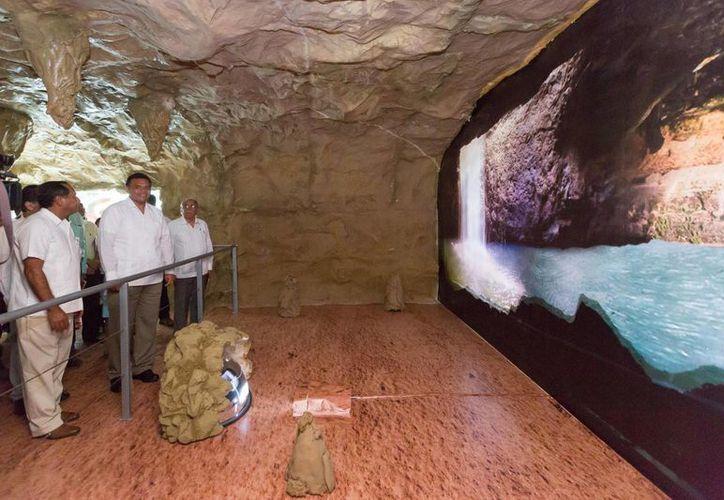 Ayer se inauguró en Yucatán el Museo del Cráter de Chicxulub. (SIPSE)