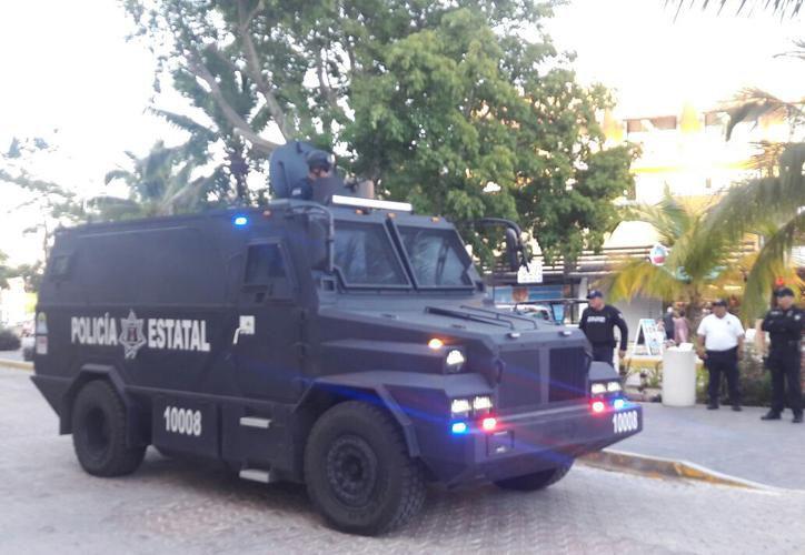 Buscan reforzar la vigilancia en Cancún con vehículos blindados. (Cortesía)