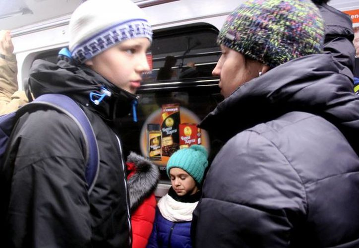 La estación Arsenalnaya del metro de Kiev, capital de Ucrania, es la más profunda de todo el mundo. (Notimex)