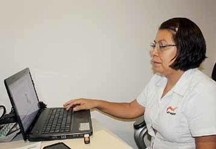 Ileana Carolina Velázquez Frías es la coordinadora de contrarrestar la trata de personas en la ciudad. (Nazly Cen/SIPSE)