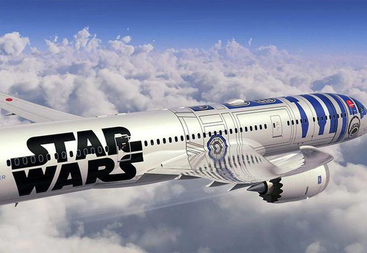 ANA ofrecerá por cinco años vuelos en el avión inspirado en 'R2-D2'. (EFE)