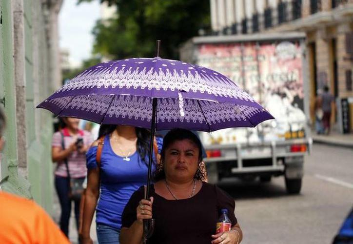 Este miércoles la temperatura máxima en Mérida fue de 32.9 grados a las 15 horas  (Foto SIPSE)