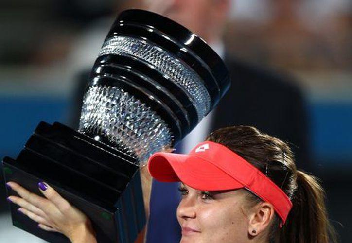 Radwanska requirió de poco más de una hora para lograr su segundo título del año. (Foto: Agencias)