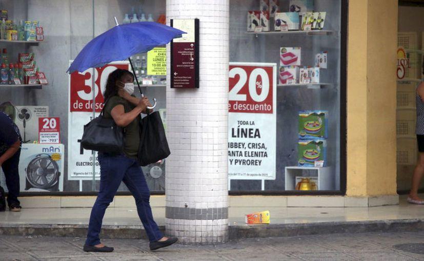 Continuarán las altas temperaturas y las lluvias en la entidad. (Novedades Yucatán)