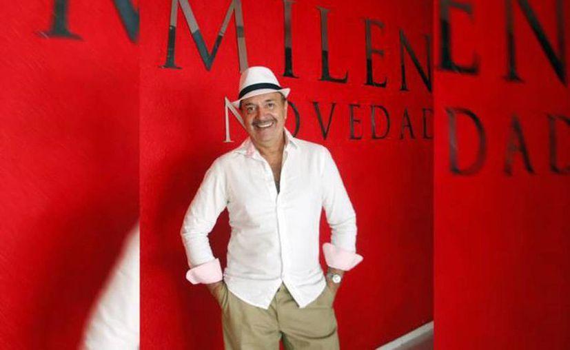 Francisco Sobero 'Tanicho' en una visita a esta casa editorial. (Sipse/archivo)