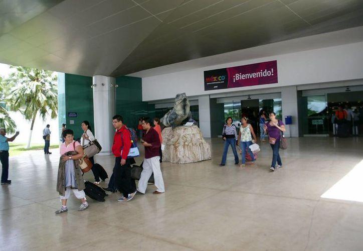 El incremento de la conectividad aérea de Yucatán ha permitido que se logren niveles récord en la captación de visitantes. (Milenio Novedades)
