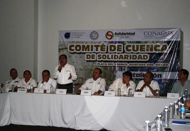 El jueves se instaló el Comité de Cuenca de Solidaridad. (Octavio Martínez/SIPSE)