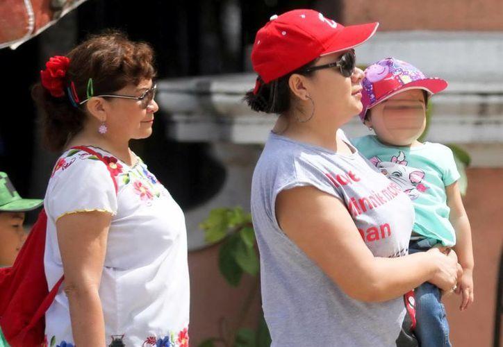 A pesar del fresco amanecer, los yucatecos pasaron una tarde calurosa. (SIPSE)