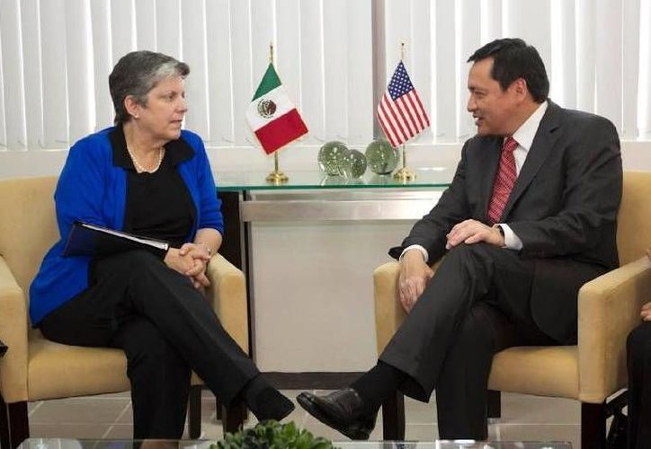 Impulsar el desarrollo de dicha región también fue tema del encuentro entre ambos funcionarios. (gobernacion.gob.mx)