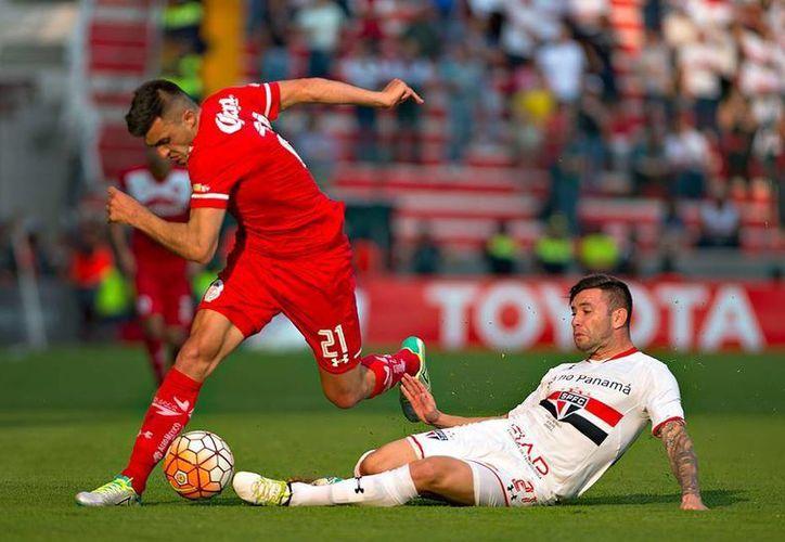 Los Diablos Rojos del Toluca vencieron 3-1 al Sao Paulo brasileño en su despedida de la Copa Libertadores. Con esto, Pumas es el único mexicano en pie dentro del torneo continental. (Facebook: Toluca)