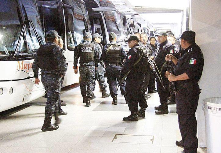 El reporte de asalto en proceso en el ADO ingresó a las 22:30 horas del 20 de diciembre. (Redacción/SIPSE)