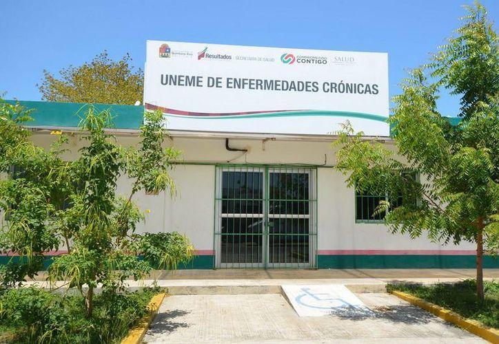 Las Unidades Médicas de Enfermedades Crónico Degenerativas atendieron en 2014 a más de 200 personas. (Cortesía)