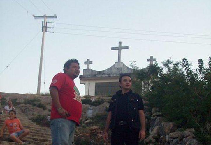 El cerro 'Zaragoza', en Maxcanú, a donde corresponde la foto, es el sitio donde se aparece el fantasma de un ladrón famoso en ese municipio. (Jorge Moreno/SIPSE)