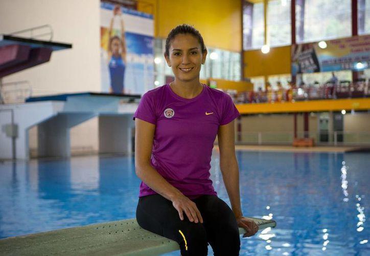Paola Espinosa asistirá a sus cuartos Juegos Olímpicos. Ahora ya como una de las deportistas mexicanas más importantes de la historia. (AP)