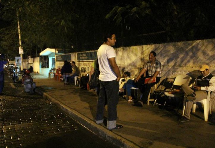"""En el preescolar """"Rosa Linda Espinosa Ortiz"""" hubo guardias nocturnas. (José Acosta/SIPSE)"""
